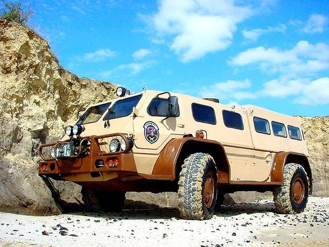 The Low-Slung Lean Machine | 23 Extreme Off-Road Camper Vans That Can Handle Anything
