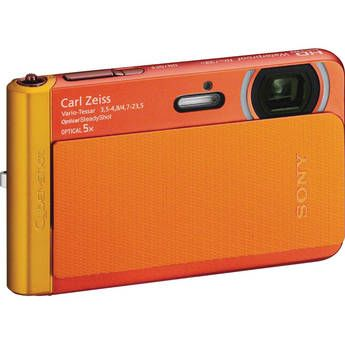Sony Cyber-shot DSC-TX30 Digital Camera (Orange) - Perfect for when I go to the Bahamas and dont want to risk my DLSR getting stolen/ broken.