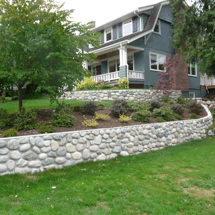 Pin By Joe Loera On Gardening River Rock Landscaping Landscaping With Rocks Rock Wall Landscape