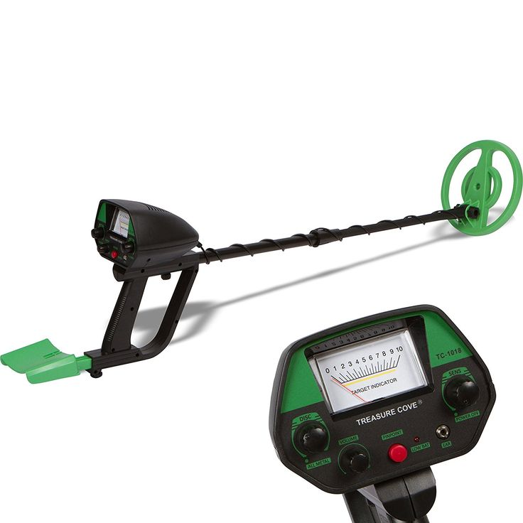 Amazon.com : Treasure Cove TC-1018 Metal Detector Fast Action Sand & Surf Metal Detector with Waterproof Search Coil and 10-Year Warranty : Garden & Outdoor