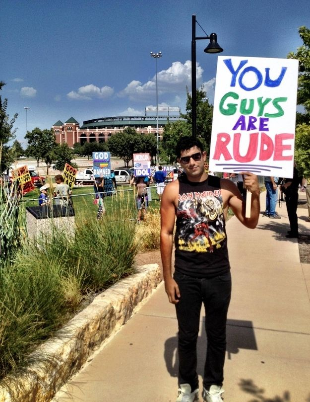 35 Times We Beat The Westboro Baptist Church    They will always lose.