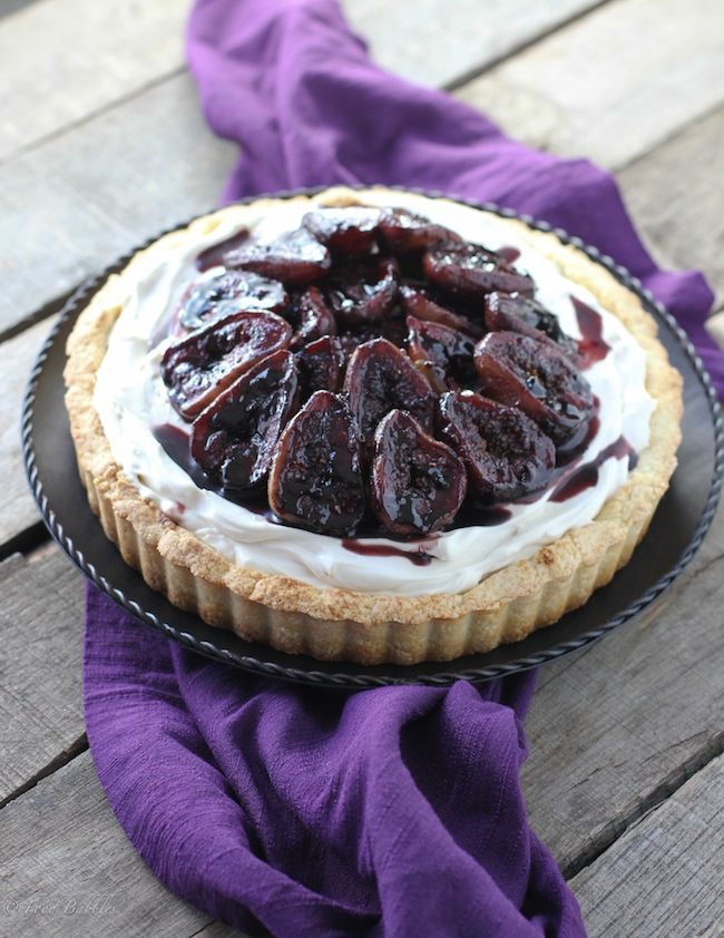 Mascarpone & Port Roasted Fig Tart - FoodBabbles.com: Tarts, Amp Port ...