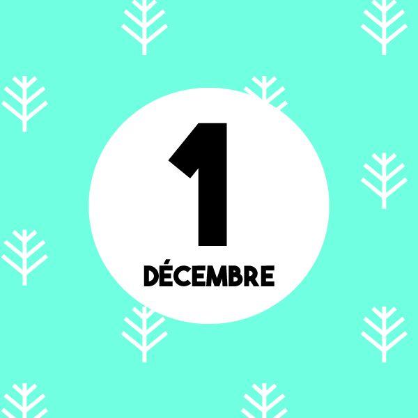 Calendrier de l'Avent : Nous sommes le 1er Décembre... Partagez chaque jour le calendrier de l'Avent sur votre mur pour le faire découvrir à vos amis ! www.merci-facteur.com #calendrierdelavent #calendrier #avent #avent2016 #Decembre1er