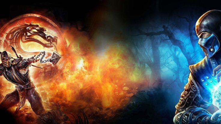 Charming Mortal Kombat Magic Dragon Fire Cold Wallpaper Wallpaper