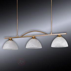 Trzypunktowa lampa wisząca Classica