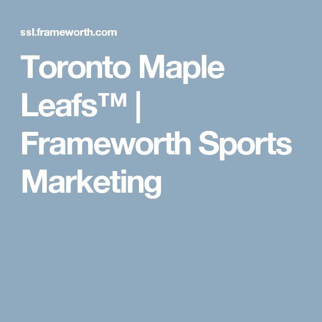 Toronto Maple Leafs™ | Frameworth Sports Marketing