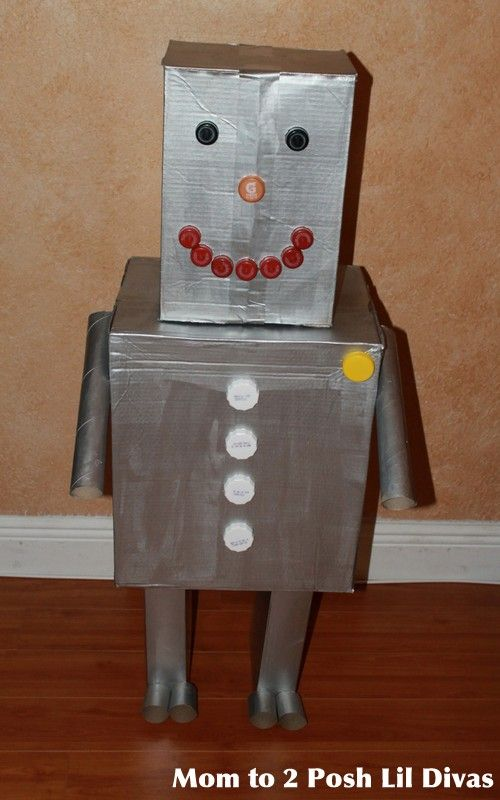 100 ideas to try about cardboard box robot robot crafts for Cardboard for projects