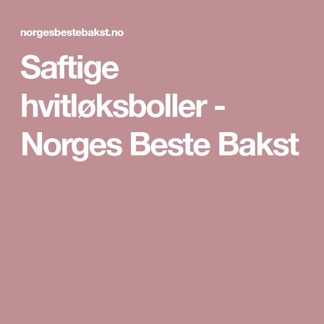 Saftige hvitløksboller - Norges Beste Bakst