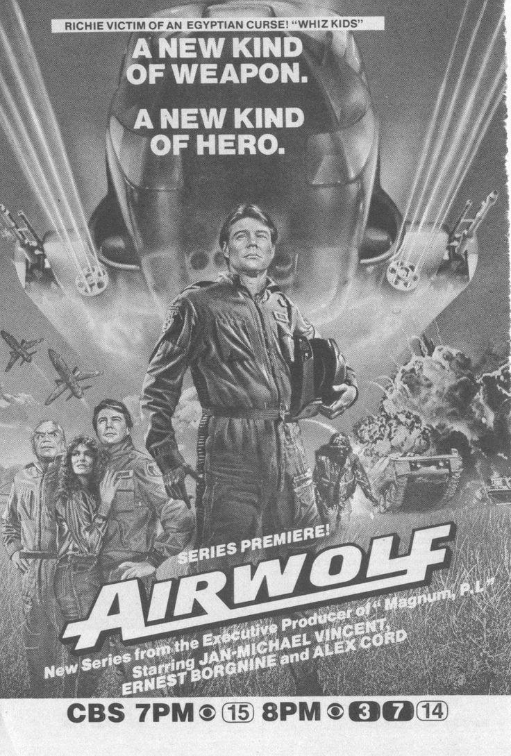 Airwolf Águia de fogo airwolfblue thunder pinterest video