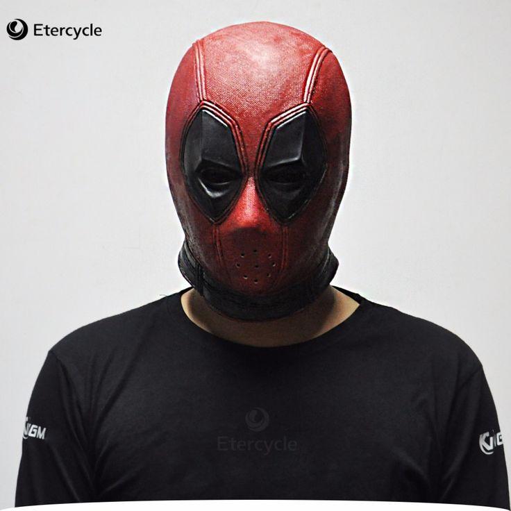 Marvel Deadpool Masks Halloween Cosplay Costume Props Superhero Movie Latex Mask Collectible Toys
