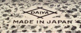 DAIYA Trade Mark Made in Japan