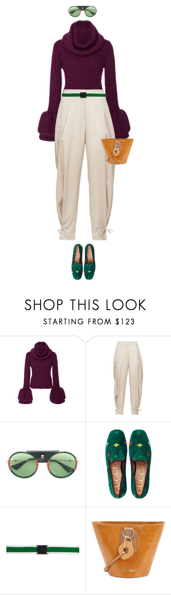 """eva2148"" by evava-c on Polyvore featuring Tuinch, FABIANA FILIPPI, Gucci, N°21 and Jacquemus"