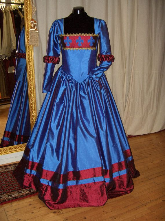 Renaissance Dress Tudor Gown Custom Order by CadwaladrCostumes, $450.00