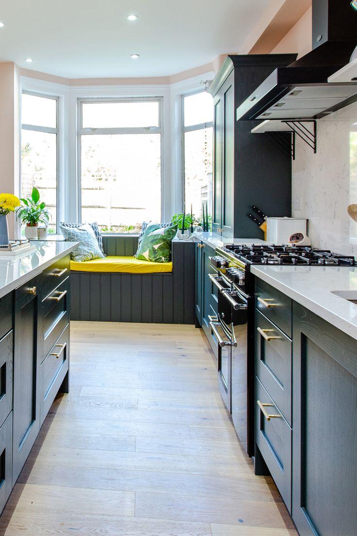 Copse Green Kitchen in 2020 Kitchen design, Dark green