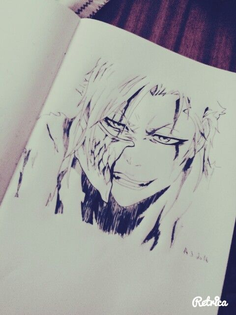 Bleach Grimmjow drawing :D Espada no.9
