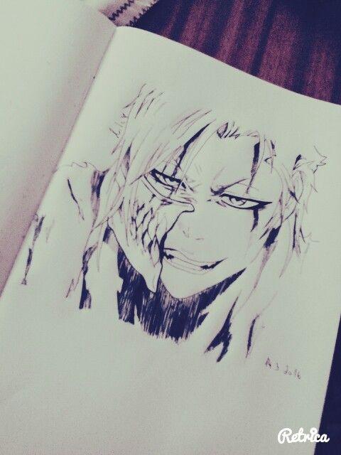 Bleach Grimmjow drawing :D Espada no.9