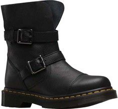 Women's+Dr.+Martens+Kristy+2+Strap+Slouch+Rigger+Boot+-+Black+Virginia/Darken+Suede+with+FREE+Shipping+&+Exchanges.+Inspired+by+the+classic+engineer+boot+but+made+for+long+lasting+style,+the+
