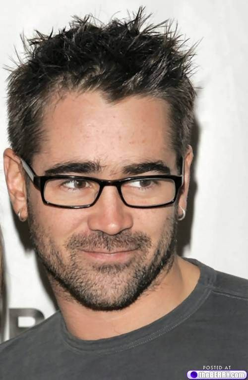 Afternoon eye candy: Sexy men in spectacles (33 photos)