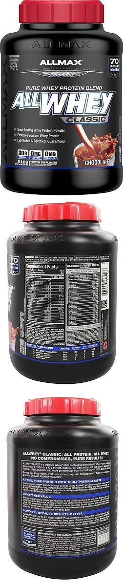 Protein Shakes and Bodybuilding: Allmax Nutrition - Allwhey Classic Pure Whey Protein Blend Chocolate - 5 Lbs. -> BUY IT NOW ONLY: $44.39 on eBay!