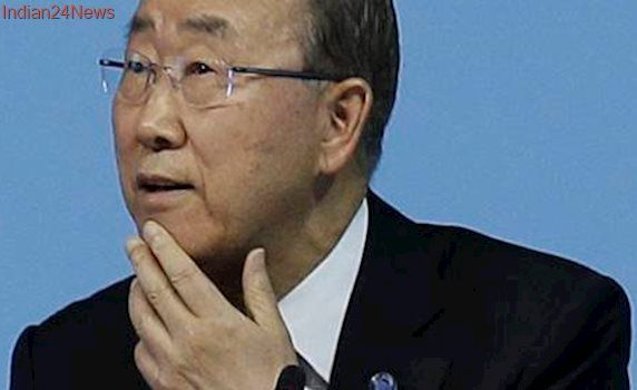 Former UN chief Ban Ki-moon joins ex-leaders promoting peace