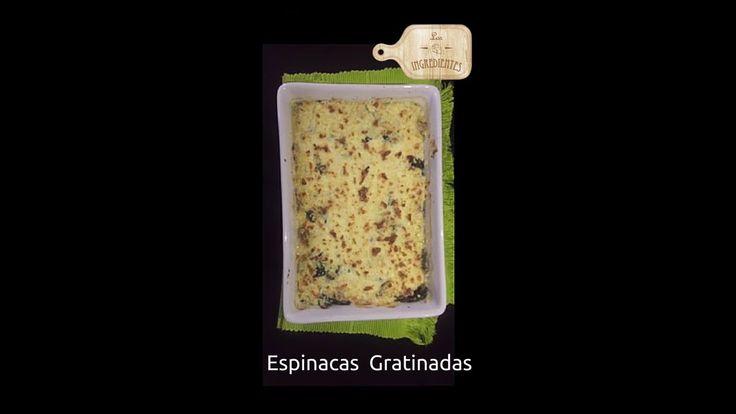 Espinacas Gratinadas _ Los Ingredientes Receta completa en Youtube Te invitamos a suscribirte en nuestro canal de Youtube: Los Ingredientes, haciendo clic en el siguiente enlace: https://www.youtube.com/channel/UCNoxMvQ4SOfYGX9hNrrq-Jg…