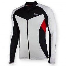 Rogelli Ranco LS wielershirt - Wit