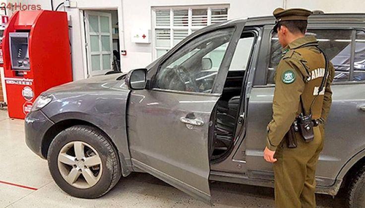 Carabineros frustra millonario alunizaje en Servipag de Linares: sujetos están prófugos