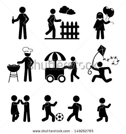 human icons over white background vector illustration  by Studio_G, via ShutterStock