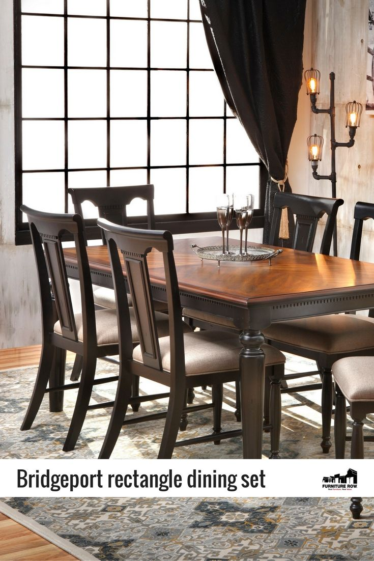 Bridgeport Rectangle Dining Set: Get Classic American Country Styling With  The Vintage Bridgeport Rectangle 5 Photo Gallery