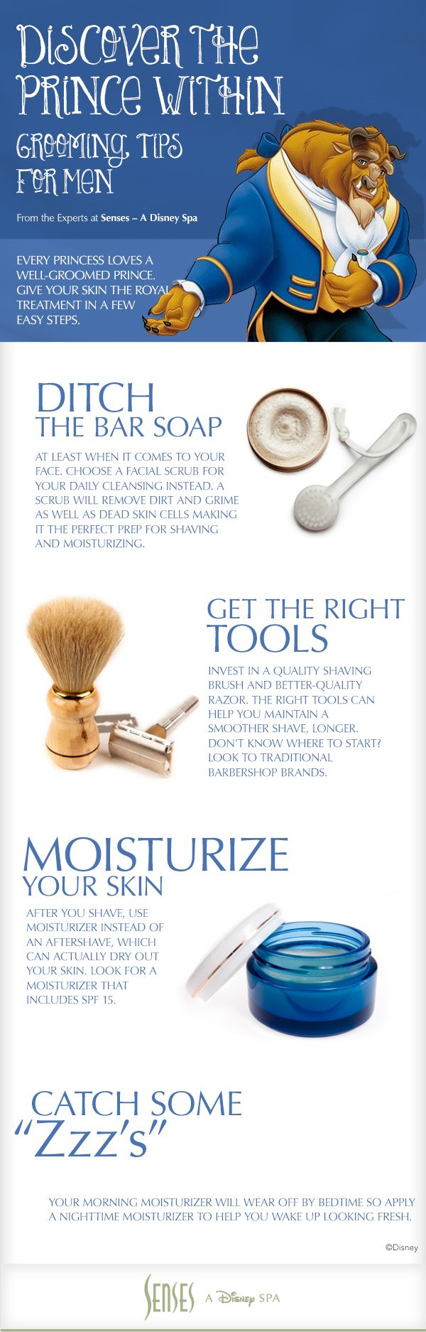 Grooming Tips for Men #WaltDisneyWorld #Spa