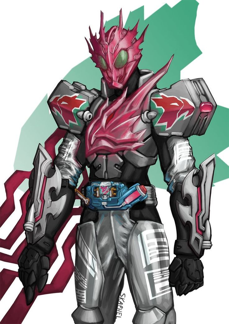 A Kamen Rider obviously based on Kamen Rider CrossZ Charge, a sort of what-if he used the Phoenix Sclash Jelly instead.