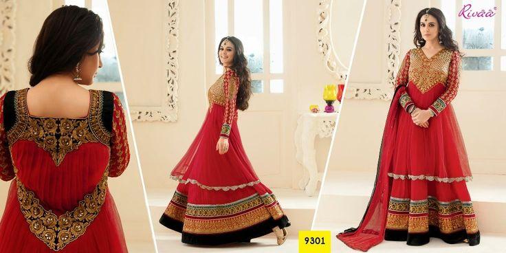 Maroon Designer Long Length Salwar Kameez