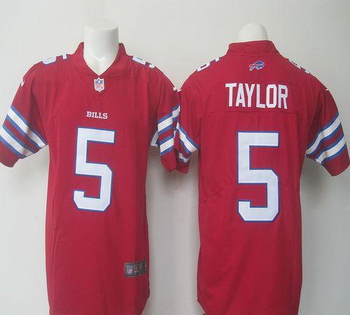 c55c25cfe46 ... NFL Nike Mens Buffalo Bills 14 Sammy Watkins Red Color Rush Limited  Jersey ...