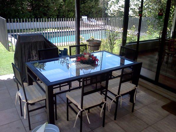 28 best Comedores de terraza fierro 6 sillas images on Pinterest ...