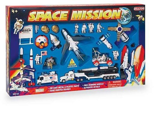 Space Mission 28 Piece Playset
