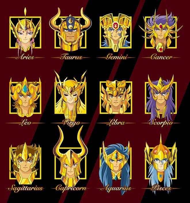 Gold Saints (Cavaleiros de Ouro)