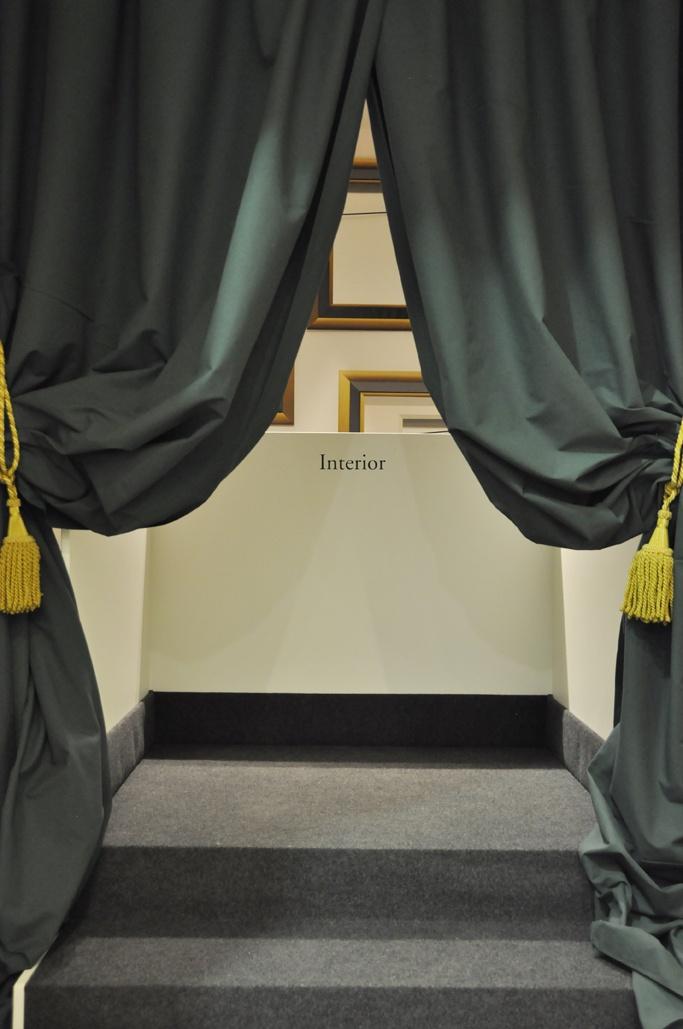 Entrada a la cuarta sala, 'Interior'  (Foto: Rui Macedo)
