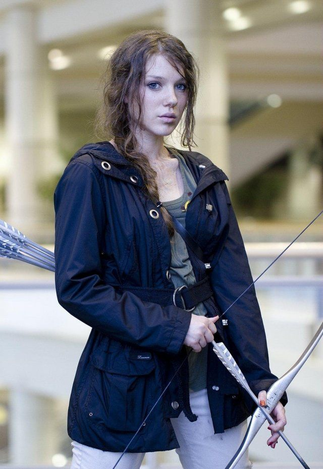 Kostum Frauen Idee Einfach Katniss Everdeen Film Inspiration Ideas