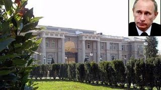Putins palace 1 billion dollars  Black sea area located here on Google Earth Map