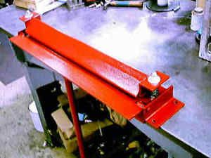 sheet metal bender plans. brake sheet metal bender slip roller sand tools 3 plans plans