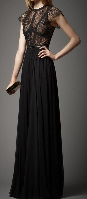 New Arrival Prom Dress,Black prom dress, long evening dresses,lace formal dress,fashion dress for girls by DestinyDress, $177.39 USD