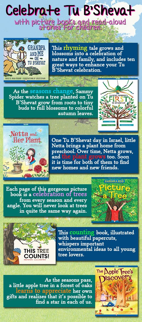 99 best childrens books images on pinterest baby books kid books celebrate tu bshevat with six childrens ebooks fandeluxe Image collections