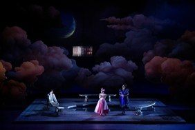 The Marriage of Figaro. Opera Lyon. Set design by Tom Pye.