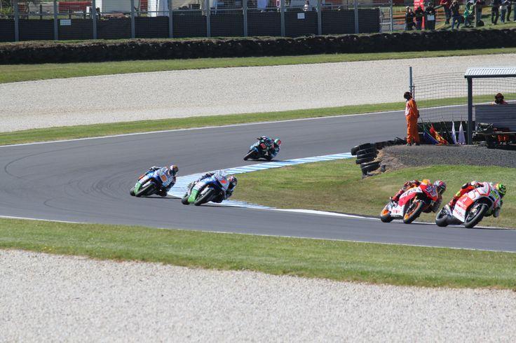 World Superbike racing at Phillip Island Circuit