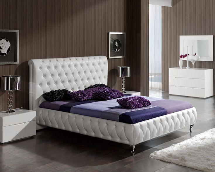 Matrix Composition 8 w\/White Headboard, Camelgroup Italy This - schlafzimmer set modern