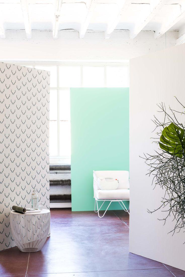 17 beste idee n over behangpapier schilderen op pinterest geschilderd behang verf behang en - Kleurkaart kleur interieur verf ...