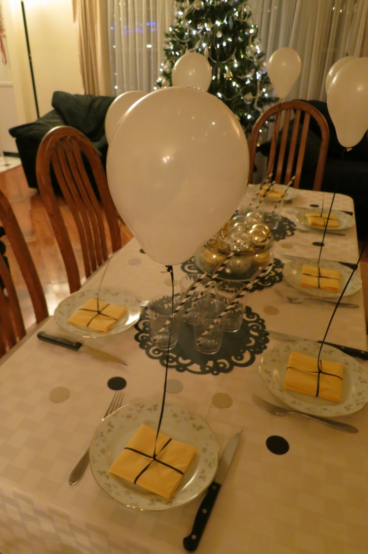 New Year's Eve - Children's Table