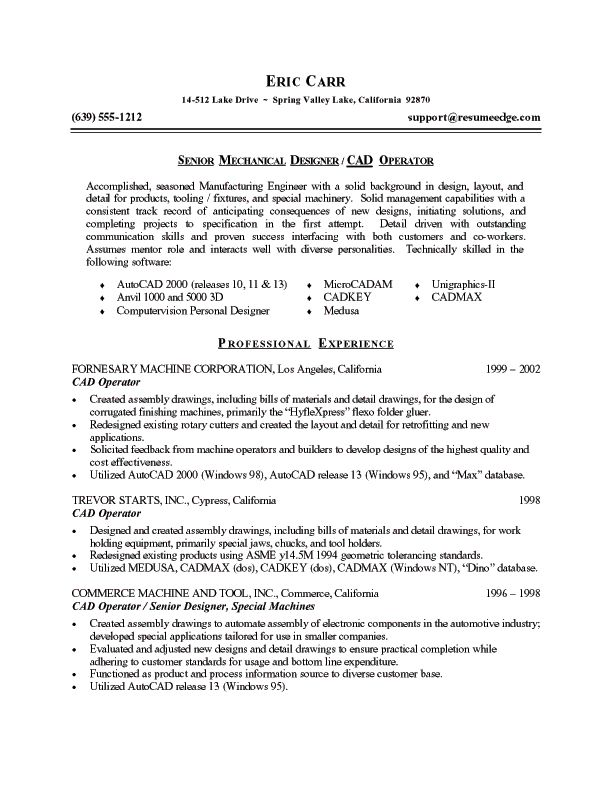 44 best Resumes images on Pinterest Resume tips, Resume ideas - manufacturing engineer resume