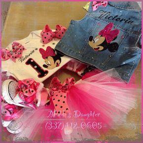 Set de tutu de Minnie Mouse por MablesD en Etsy