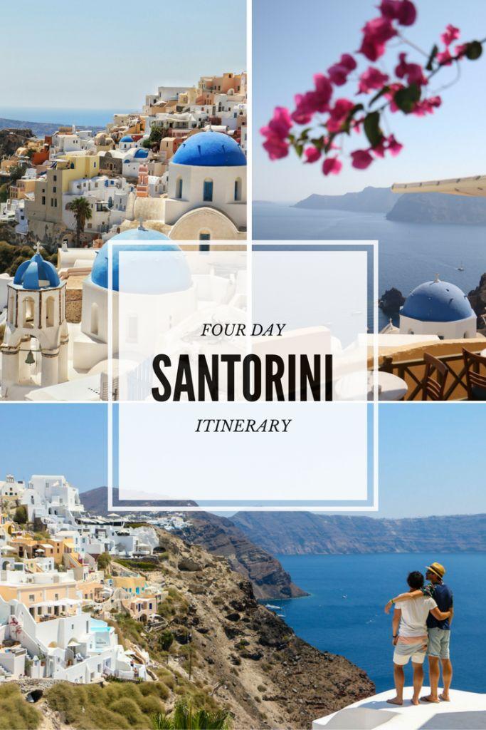 Four days on Santorini #Santorini #Oia #Greece